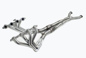 "Corvette C5 SLP 97-04 Header Package 1-3/4"" Long Tubes w/ Cats & X Pipe"