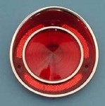 1968-1973 C3 Corvette Tail Light Lens - Single or Sets Available