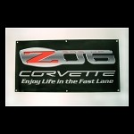 "C6 ""Corvette Racing"" and ""Z06 505 HP"" Vinyl Banners"