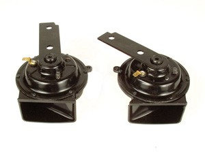 1968-1972 C3 Corvette Horn with Welded Bracket - pair