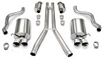 Corvette C6 09-13 Corsa Touring Exhaust Complete System - Includes XO Pipe!