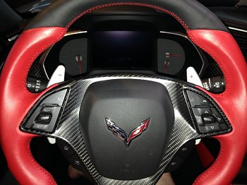 C6 Lloyds Corvette Velourtex Front Floor Mats - Corvette Racing & Cross Flags