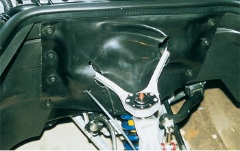 1988-1996 Corvette C4 Neoprene A-Arm Fender Seals