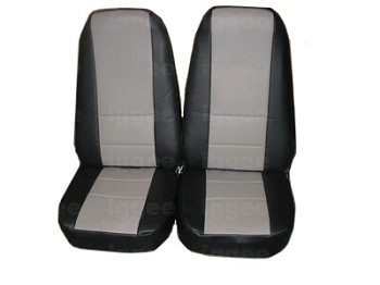 Corvette C3 1968-1982 Synthetic Leather Or Suede Seat Covers -Multiple Color Selections