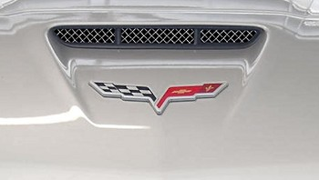 C6 Corvette 2005-2013 RaceMesh Nose Scoop Grille: Grand Sport