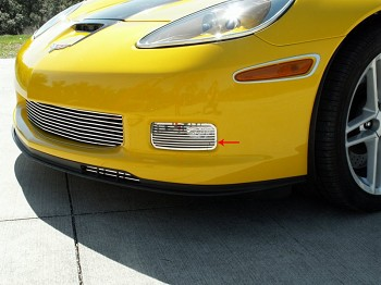 Corvette C6 Z06 Grand Sport ZR1 Driving Light Covers Billet