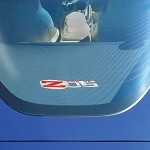 C6 Corvette Cargo Shade Embroidered Z06 Logo