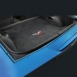 Corvette C6 2013 60 Years Logo & Lettering Lloyd Corvette Velourtex Cargo Mat