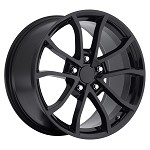 C6 Corvette 2013 Corvette Cup Style Wheels (Set) Gloss/Satin Black 18x8.5 / 19x10 2005-2013