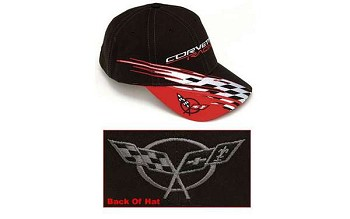 Corvette C5 Cap, Racing, Black