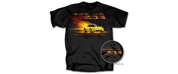 Corvette Z06 C6 T-Shirt Devil In Disguise, Black
