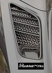 C7 Corvette Stingray 2014+ Racemesh Rear Upper Fender Grilles - Pair