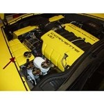 Corvette C6 Painted Coolant Tank Cover Kit
