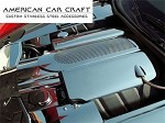 C6 Corvette Perforated Stainless Steel Engine Cover