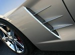 Corvette C6 Side Spears Billet Chrome 6 Piece Set