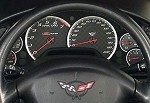 C5 Corvette 97-04 Gauge Bezel Set Billet Silver