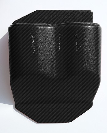 C6 Corvette 2005-2013 Hydrocarbon Carbon Fiber Travel Buddy Cup Holders