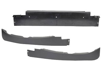 C6 2005-13 Corvette Front Spoiler / Air Dam FULL 3 PIECE KIT