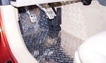 C6 Corvette Diamond Plate Floor Mats