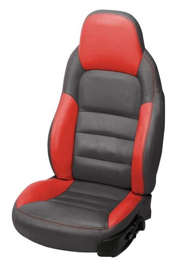 C6 Corvette Leather Seat Covers Z06 Inspired