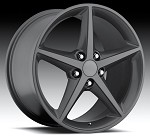 Corvette C6 05-13 2011 Style Gray Wheel Set 18x8.5/19x10