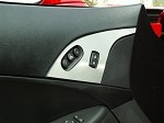 C6 Corvette Door Lock Trim Stainless