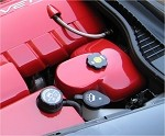Corvette C6 Painted Brake Booster/Reservoir Cover Kit