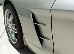 Corvette C6 2005-2013 Chrome Side Spear Set