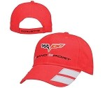 Corvette C6 Grand Sport Cap Red or Gray