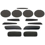 Corvette C6 05-13 Complete Blackout Kit For Z06 Grand Sport ZR1- 13 Piece