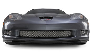 C6 Base / ZR1 / Z06 / Grand Sport Corvette 05-13 Stainless Front Grille Mesh For All Models
