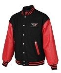 Corvette C3 C4 C5 C6  Varsity Jacket w/Applique
