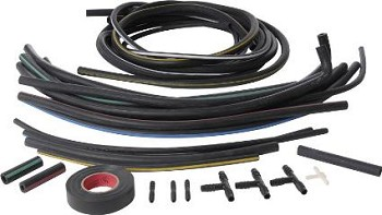1968-1982 C3 Corvette Headlight & Wiper Door Vacuum Hose Kits & Hardware