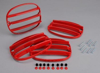 Corvette C4 91-96 Taillight Louvers In Factory Colors