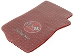 1968-82 C3 Corvette Clear Floor Mat Protectors, Pair