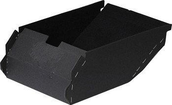 1977-79 C3 Corvette Rear 3-Door Storage Compartment Center Glove Box Liner (without provision for light)