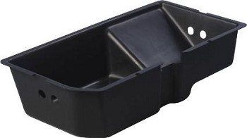 1979-82	C3 Corvette Rear 2-Door Storage Compartment Right Hand Drop-in Tray (Heavy Duty Plastic)