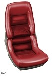 1968-1982 Corvette C3 Leather and Leather Alternative Vinyl Seat Covers