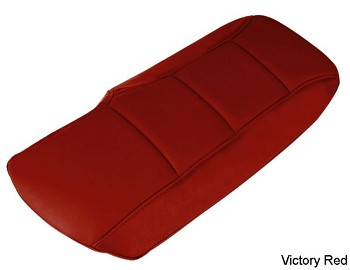 C6 Corvette Leather Console Cushions - Solid Colors
