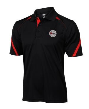 C3 C4 C5 C6 Embroidered Corvette Polo Racing Inspired
