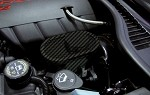 C6 Corvette 2005-2013 Hydrocarbon Carbon Fiber Master Cylinder Cover - Perforated