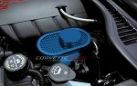 C6 Corvette 2005-2013 Custom Painted Perforated Master Cylinder Cover