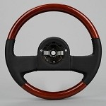 Corvette Steering Wheel 1989 Style For 1984-1989 C4's - Mahogany