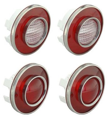 1974-1979 Corvette C3 Taillight Sets