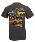 Setting the Pace T-Shirt, Featuring Corvette Pace Cars