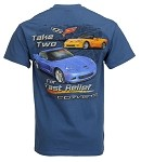 2005-2013 C6 Take Two for Fast Relief Corvette T-Shirt