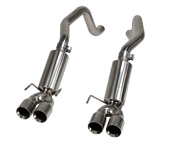 Quad Power 2005-2013 C6 Corvette Exhaust System
