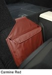 C4 Corvette Solid Color Route Bags Additional Behind The Seat Storage
