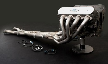 "Corvette C4 1992-1996 LT1/LT4 Stainless Works Headers 1-5/8"" / 2.5"" Lead Pipes with High Flow Cats"