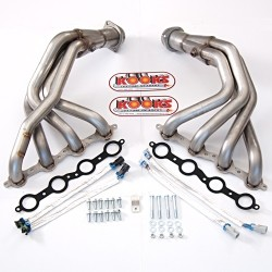 Corvette C6 LS2/LS3 Kooks Long Tube Headers & X Pipe Kit